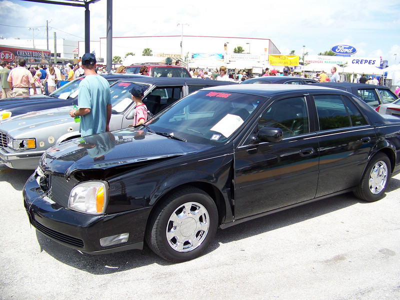 "LotNumber 949             SOLD $7,500<br /> Year 2000 <br /> CarMake CADILLAC <br /> CarModel DE VILLE <br /> CarStyle VITO'S FROM ""THE SOPRANOS"" <br /> ExteriorColor NAVY BLUE <br /> Interiorcolor   <br /> Cylinders   <br /> Engine   <br /> Transmission   <br /> Summary Utilized by the character Vito Spatafore in the award-winning HBO series ""The Sopranos"". Vito used the vehicle in ""Moe N' Joe"". Special conditions apply. <br /> Description This black Cadillac DeVille was utilized by the character Vito Spatafore in the award-winning HBO series ""The Sopranos"". Vito used the vehicle in ""Moe N' Joe"" (Season 6 Part I, Episode 10) during the scene where Vito accidentally rear ends a parked Jeep Wagoneer and then kills the owner of the other car rather than report the accident. The fully functional vehicle has approximately 93,541 miles on the odometer and is in good screen used condition with minor front end damage as seen in the episode. **This vehicle is the actual vehicle used on the award-winning HBO drama, ""The Sopranos"" and it is in screen-used condition. There is no claim that the vehicle works properly and it is being sold under special conditions.**"