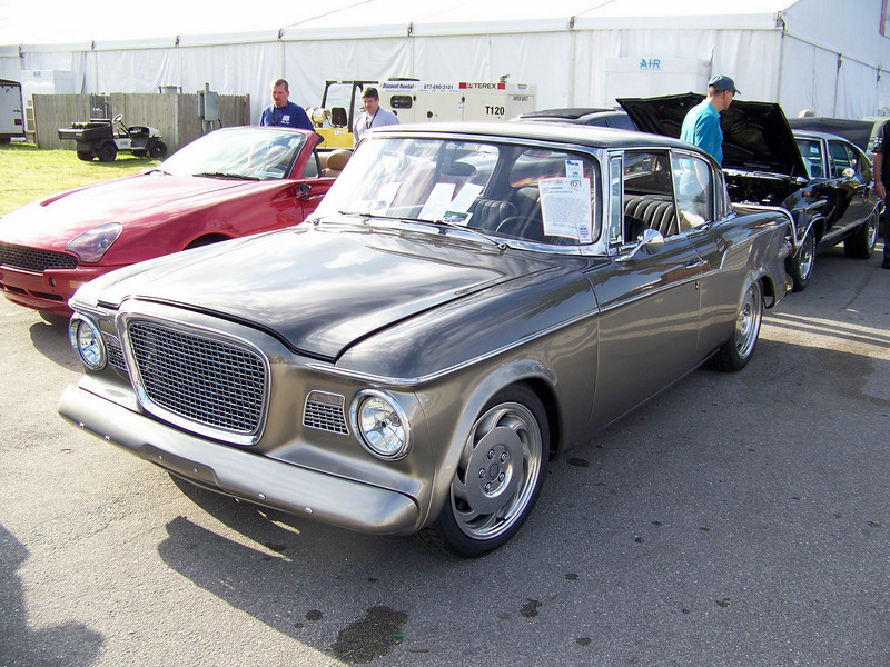 """LotNumber 621 SOLD $52,000<br /> Year 1960 <br /> CarMake STUDEBAKER <br /> CarModel LARK <br /> CarStyle CUSTOM 2 DOOR HARDTOP <br /> ExteriorColor GRAY <br /> Interiorcolor BLACK <br /> Cylinders 8 <br /> Engine 5.7 LITER <br /> Transmission 4-SPEED AUTOMATIC <br /> Summary 1995 Corvette LT1 powertrain and suspension. Euro-look interior. Galaxy gray and pewter paint. Beautifully crafted pieces throughout. """"Car Craft"""" March 2005 feature car. <br /> Description Powertrain/suspension from a '95 Corvette. Absolutely stunning build. Factory look. 350 LT1 TPIS upgrades 410hp. Unique cold air induction. Beautifully crafted headers and exhaust system. Ceramic coated. All stainless fuel and brake lines. 25 gallon stainless steel tank. Extensive dynamatting and heat shielding incorporated. Custom Euro-look interior with black and pewter leather. Gorgeous Galaxy Gray/Pewter paint. Vintage Air and Blaupukt headed sound system. Cruise. Power windows and locks. Computer upgraded 4L60E. Modified stock box frame incorporates new front rails for C4 components, additional cross member for rigidity and pinched rear for IRS, all TIG welded and powdercoated black. """"Car Craft"""" March 2005 feature."""