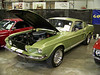 "LotNumber 659 SOLD $190,000<br /> Year 1967 <br /> CarMake SHELBY <br /> CarModel GT500 <br /> CarStyle FASTBACK <br /> ExteriorColor LIME GOLD <br /> Interiorcolor BLACK <br /> Cylinders 8 <br /> Engine 428 <br /> Transmission C-6 AUTOMATIC <br /> Summary Restored with original 428 engine and C6 transmission. Includes factory harnesses, roll bar and original 10-spoke wheels. Listed in the Shelby Registry. Signed by Carroll Shelby on original air cleaner and glovebox. Award winner. <br /> Description Original 428 engine with C6 automatic transmission. BJ/BK Carbs/C7ZX intake rebuilt with less than 500 miles. Original wood-wheel, roll bar and harnesses. Original stainless and restored chrome dash and door inserts. Original 10-spokes restored by Cobra Automotive and a second set of 10-spokes for driving. Original jack and lug nut wrench, owner's manual and extra 2x4 intake goes with car. Show quality paint. An original Lime Gold car. Extensive documentation including ""add-delete"" sheet and original sales invoice from previous owner. Listed in the Shelby Registry. Signed by Carroll Shelby on original air cleaner and glovebox. Two First Place Awards at regional events. **TITLE IN TRANSIT**"