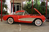 1957 Corvette. 283cid/270hp V8 with 4-speed transmission. Complete professional frame-off retsortaion. $96,120.