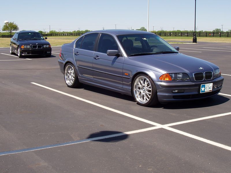 My car with another Aggie BMW in the background