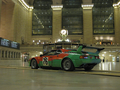 BMW Art Cars at Grand Central Station, March 2009