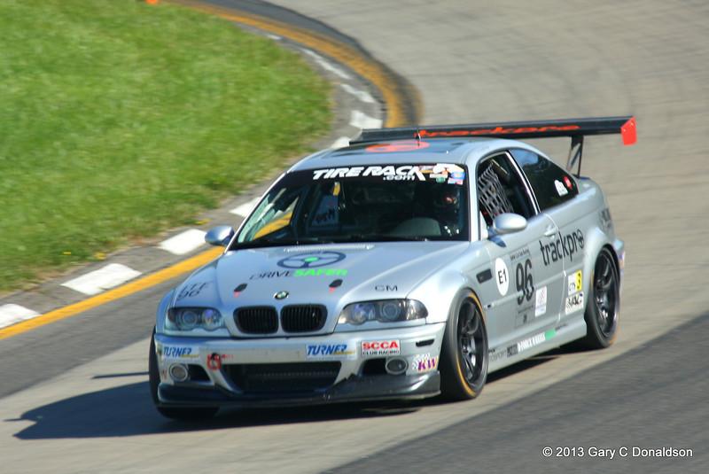 BMW CCA Club Racing, Watkins Glen International, Friday, 20-Sep-2013; Turm 7 ('Toe of the Boot')