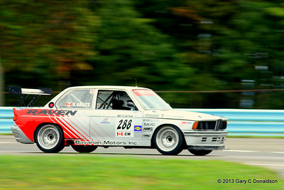 BMW CCA Club Racing, Watkins Glen International, Sunday sprint, 22-Sep-2013; Bus stop