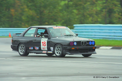 BMW CCA Club Racing, Watkins Glen International, Saturday sprint, 21-Sep-2013; Bus stop