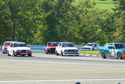BMW CCA Club Racing, Watkins Glen International, Friday, 20-Sep-2013; Bus stop