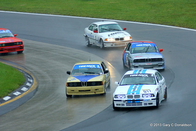 BMW CCA Club Racing, Watkins Glen International, Saturday sprint, 21-Sep-2013; Turn 7 ('Toe of the Boot')