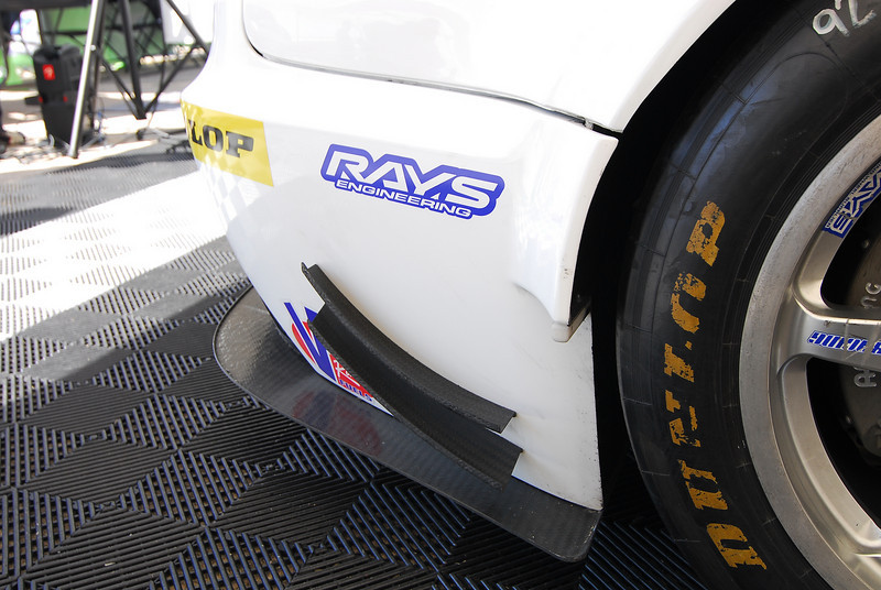 Dive planes were added to the rear bumper for 2011.