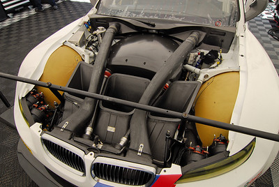 Shot of 2011 engine. Continuous improvements were made for reliability.