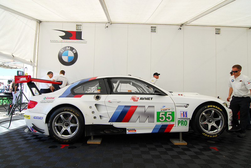 BMW Motorsport built two new M3 GT's for BMW Team RLL to use in the 2011 ALMS season.