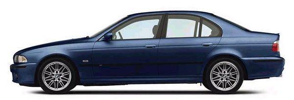 MY BMW 2000 M5 exterior