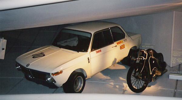 BMW Museum - Munich, Germany - November 2003