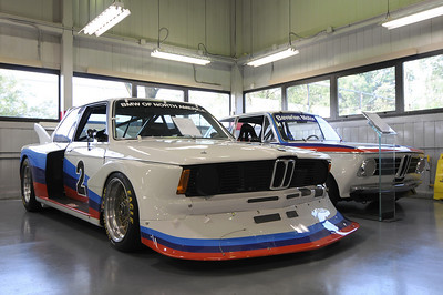 1977 320 Turbo (driven by David Hobbs, Jim Busby), 1970 2002ti (ex-Vasek Polak SCCA, Trans Am car)