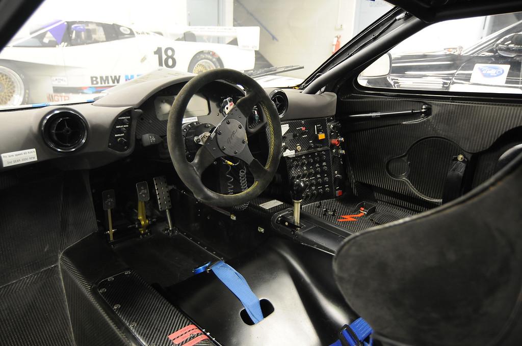 Cockpit of 1996 McLaren F1 GTR
