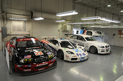 Right to left: 2001 M3 GTR, 1996 McLaren F1 GTR, 2006 335d, 1981 March M1C IMSA GTP.