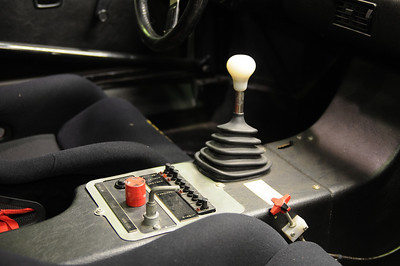 Cockpit detail of 1980 M1 Procar