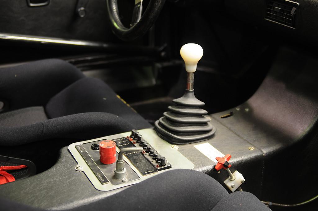 Cockpit detail of 1980 M1 Procar