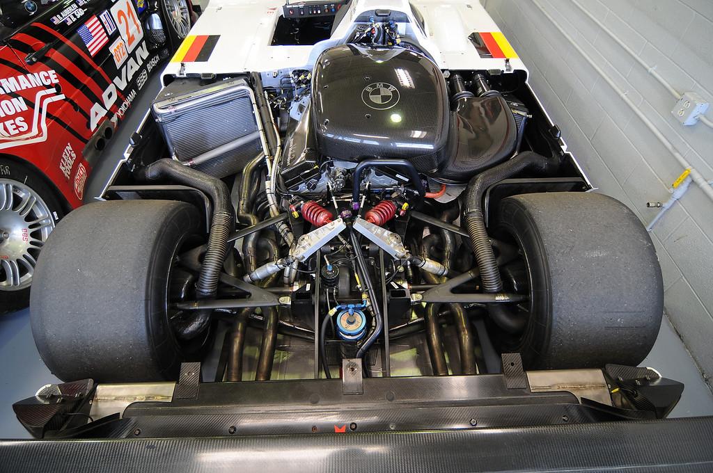 Engine bay of 1999 V12 LMR