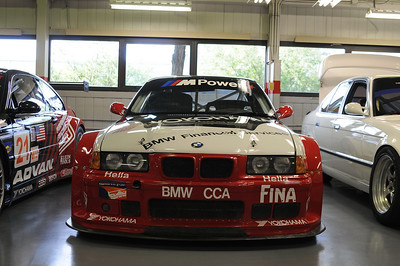 1996 M3 GT3 (serial #102292, driven by various drivers including Hans Stuck, Bill Auberlen, Boris Said, Marc Duez, Peter Cunningham)