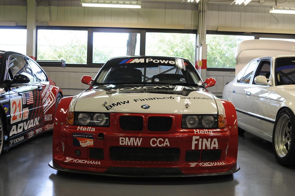 1996 M3 GT3 (serial #102292, driven by various drivers including Hans Stuck, Bill Auberlen, Boris Said, Marc Duez, Peter Cunningham)