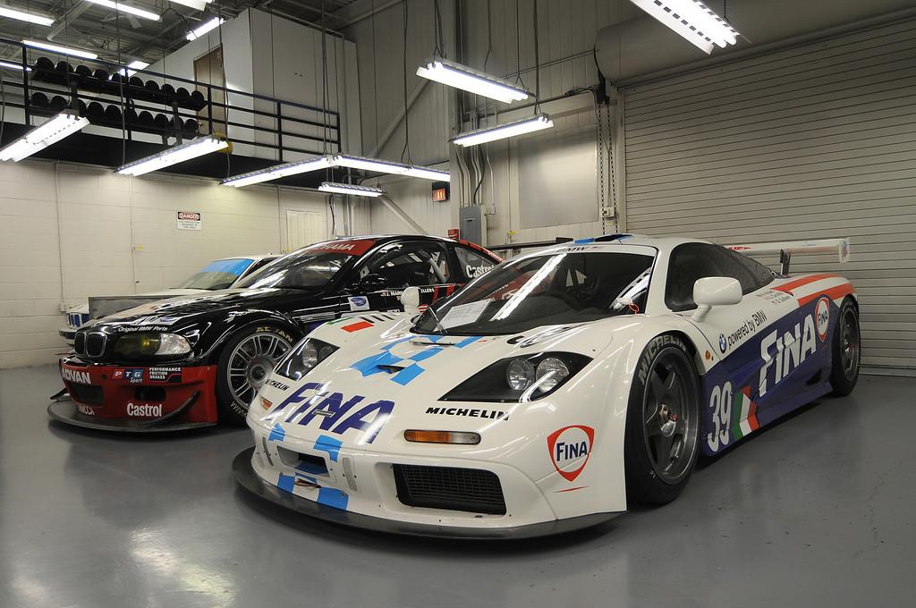 2001 M3 GTR, 1996 McLaren F1 GTR (only race was Le Mans 2006)