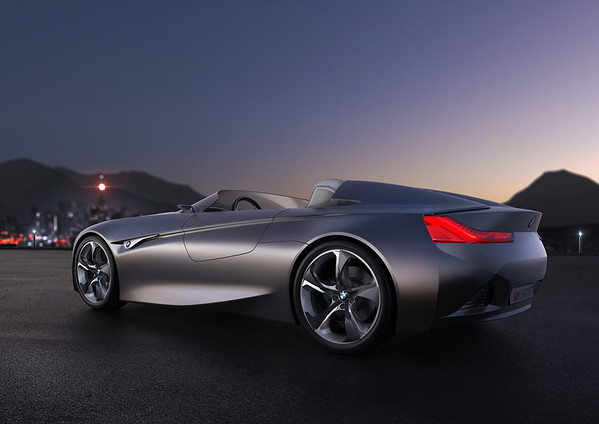 BMW Vision ConnectedDrive side angle exterior