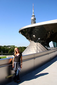 Jo In Front of BMW Welt