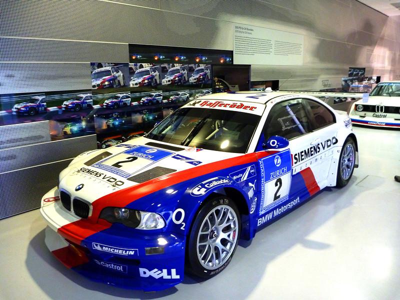 2004 BMW M3 GTS Race Car