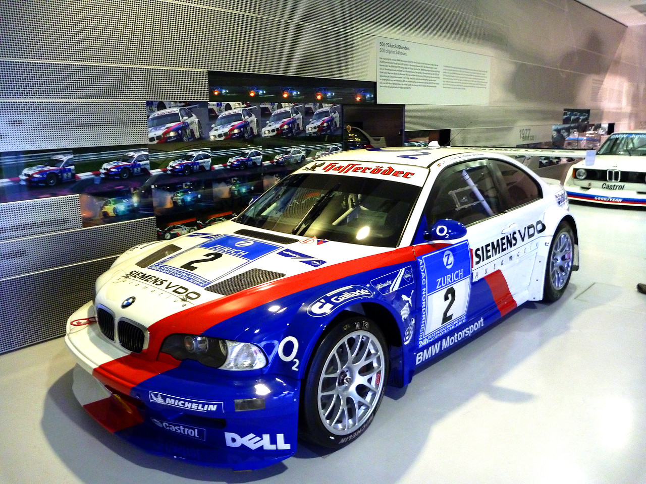2004 BMW M3 GTS Race Car