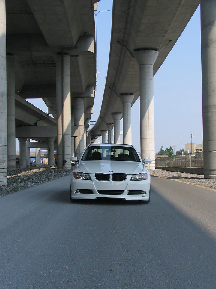 E90 325i, TMS-built car with Hartge bodywork, 280hp