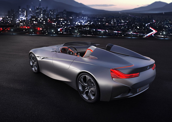 BMW Vision ConnectedDrive top angle exterior