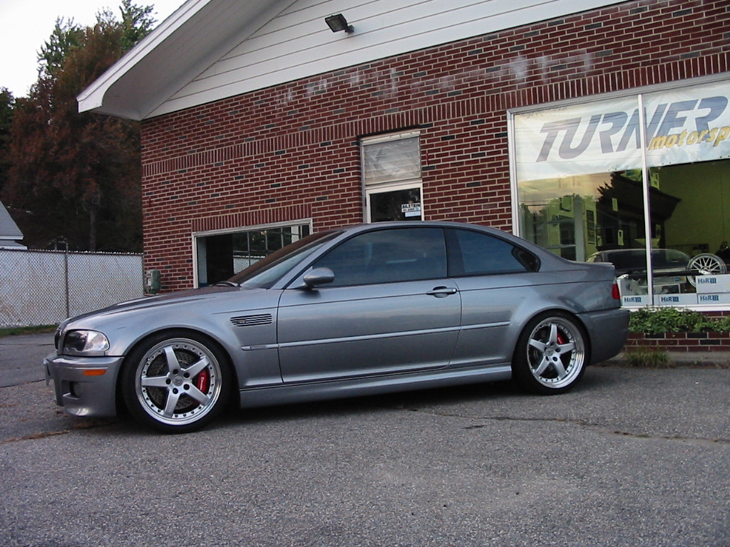 "E46 M3. Hamann 19"" wheels, H&R Coil Overs, Brembo Gran Turismo front and rear brakes"