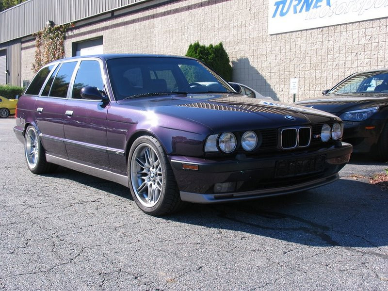 E34 M5 Touring. The real deal Euro market M5 Touring with 3.8-liter engine.