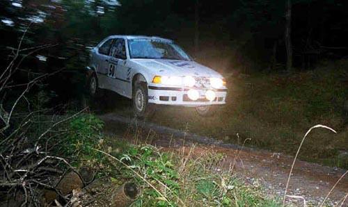 E36 330ti rally car