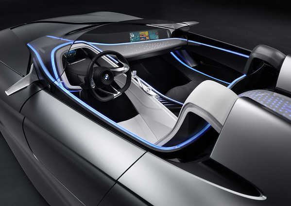 BMW Vision ConnectedDrive side interior