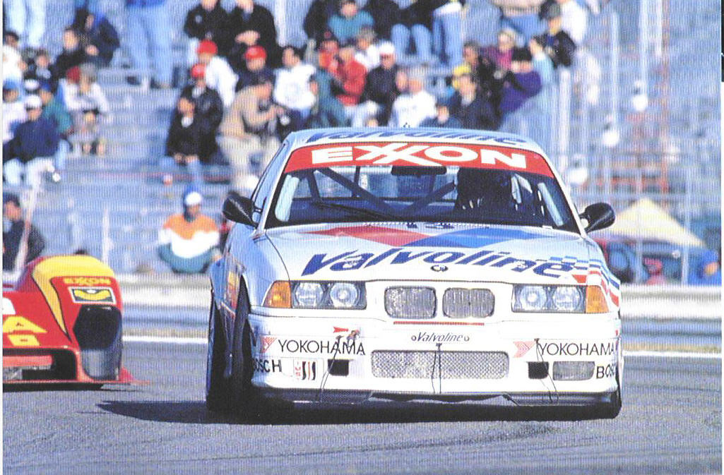 E36 M3 Lightweight. PTG's first BMW outing at 1995 Daytona 2 Hours