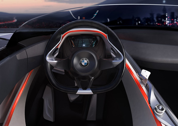 BMW Vision ConnectedDrive steering wheel