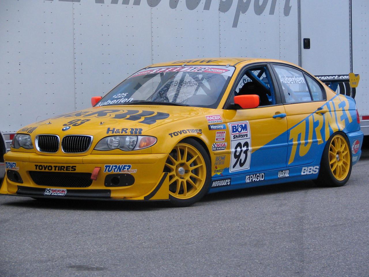 E46 325i racecar. Bill Auberlen's 2004 Touring Car Championship ride.