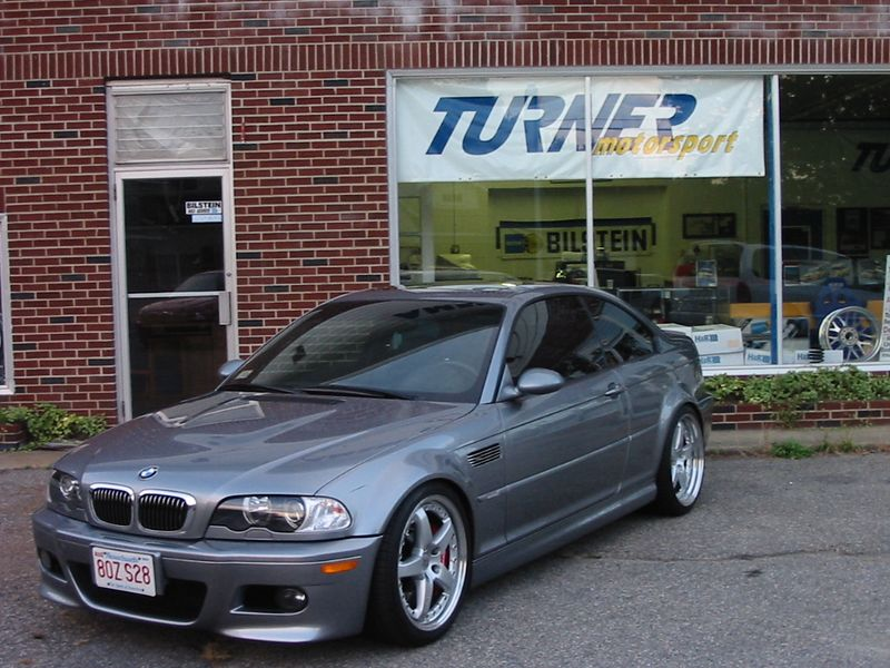 """E46 M3. Hamann 19"""" wheels, H&R Coil Overs, Brembo Gran Turismo front and rear brakes"""