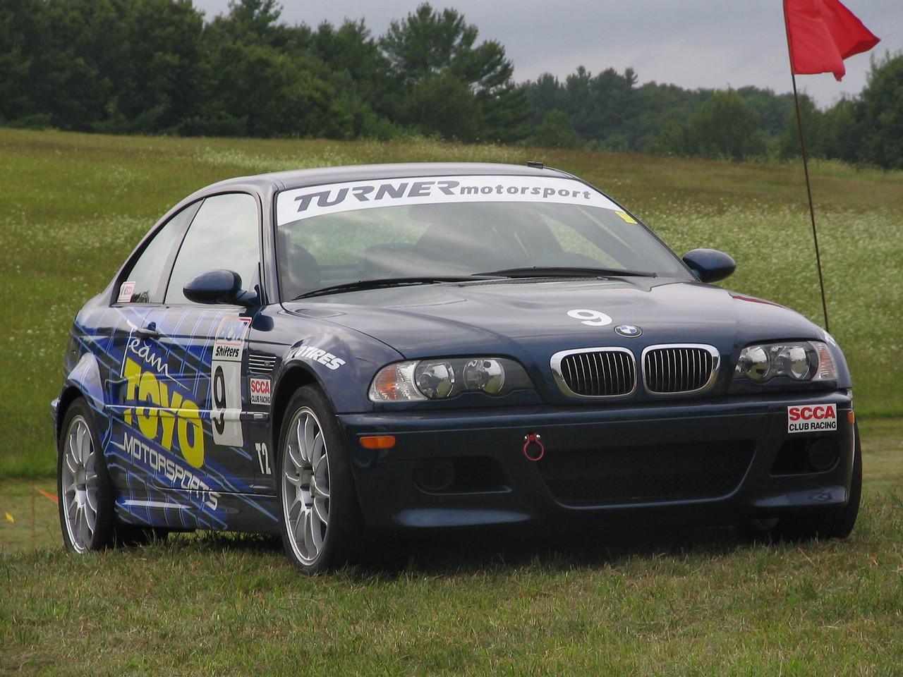 E46 M3 SCCA T2 racecar.