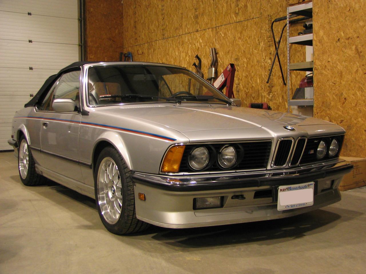 E24 M6 cabrio