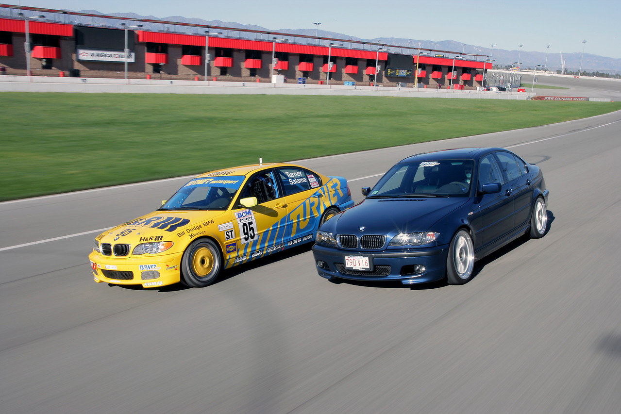 E46 330, TMS 330 racecar and TMS 330 ZHP project car