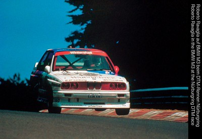E30 M3 Touring Car on the Nurburgring