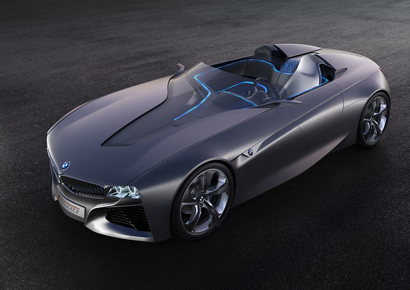 BMW Vision ConnectedDrive exterior front angle