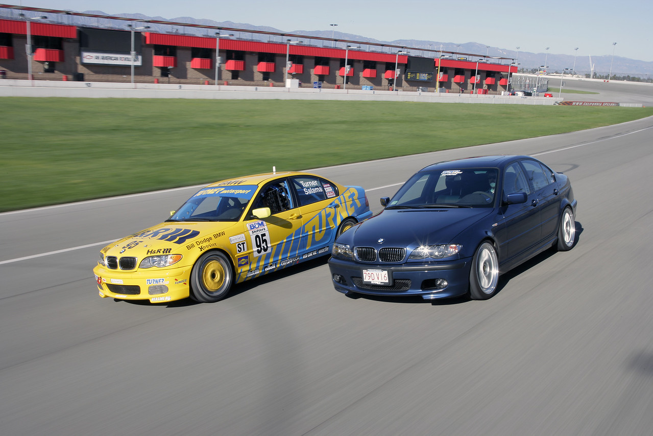 E46 330i TMS Motorsport Edition and TMS 330i Grand Am Cup racecar