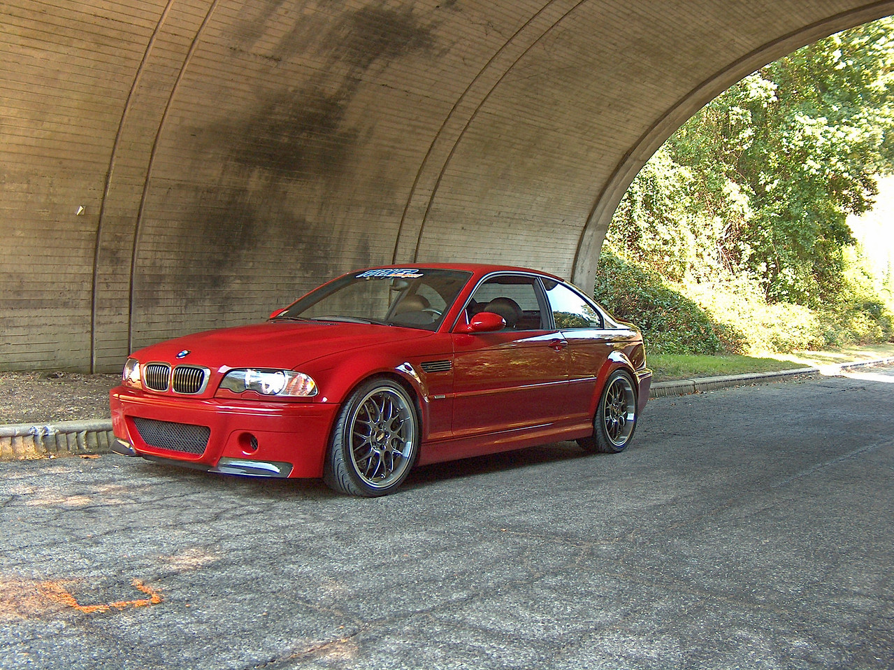E46 M3, TMS-built car with many factory CSL parts