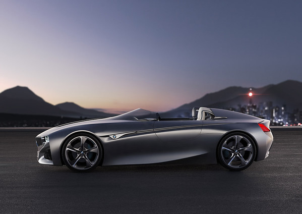 BMW Vision ConnectedDrive side