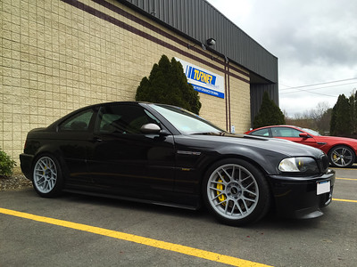 BMW E46 M3. I love the look of this car.