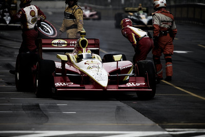izod indycar race at the inaugural baltimore grand prix on 2-4 september 2011