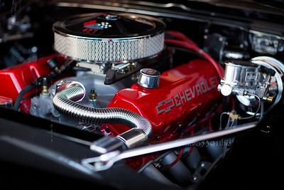 Chevy 427 Engine 4896